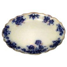 """Flow Blue """"Osbourne"""" Platter"""