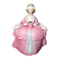 "Hand-Decorated Germany ""Madame Pompadour"" Dresser Doll"