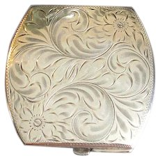 Birks Sterling Silver Ladies' Compact