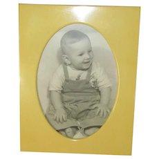 Vintage Celluloid Tabletop Picture Frame