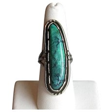 Native American Silver and Turquoise Ring