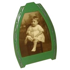 Art Deco Celluloid Tabletop Picture Frame