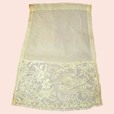Hand-Made Lace Collar Jabot or Fichu