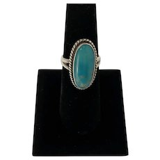 Bell Trading Post sterling and turquoise ring