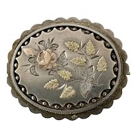 Victorian Sterling Silver Brooch/Pin