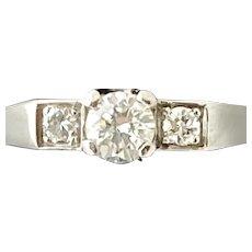Cartier Retro Diamond Ring