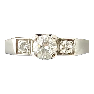 Cartier Retro Diamond Ring