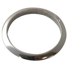 Tiffany & CO Platinum Wedding Band
