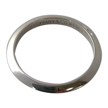 Tiffany & CO Platinum Wedding Band