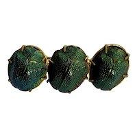 Egyptian Revival Scarab Pin