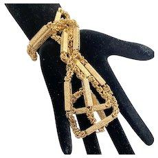 Edwardian 15 Karat Gold Antique Chain