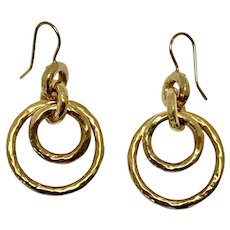 18 karat gold Ippolita Earrings
