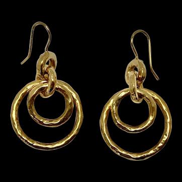 18 karat gold Ippolita Earrings