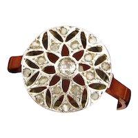 Original Art Deco Filigree Diamonds Platinum 18K Yellow Gold Ring