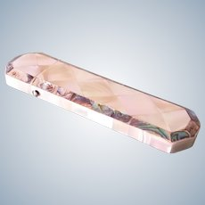 Case or etui for glasses, antique mother of pearl