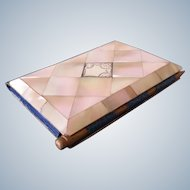 Card case, mother of pearl, antique