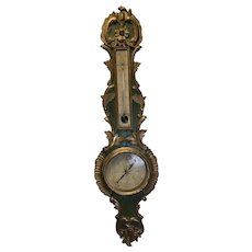 19th Century French Barometer