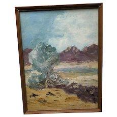 Desert Oil Painting