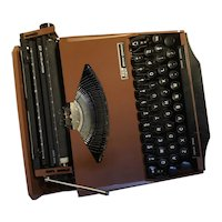 "Classic ""Ghia"" Typewriter, 1950's, Bronze color"