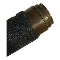Antique Sailor's Spyglass. Rope Twist. c.1830