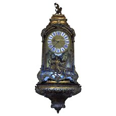 18th Century Antique French Regency Period Parisian Cartel Clock