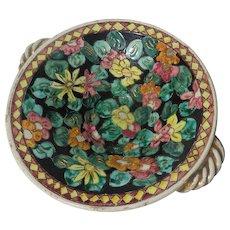 19th Century Antique French Napoleon III Period Enamel Dish