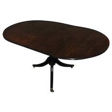 19th Century Antique English Regency Mahogany Gueridon Table