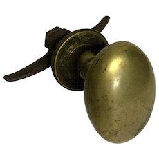19th Century French Louis Philippe Period Doorknob