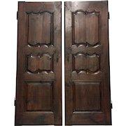Pair of 18th Century French Louis XV Period Doors