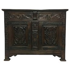 19th Century Antique French Renaissance Style Buffet