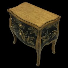Vintage Louis XV Style Petite Commode Nightstand