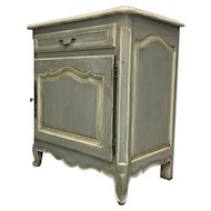 Antique Country French Louis XV Style Confiturier Cabinet