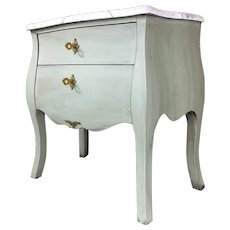 French Louis XV Style Nightstand