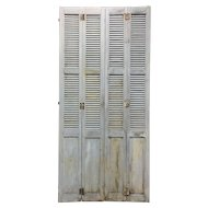 Pair of 19th Century Antique French Folding Shutters