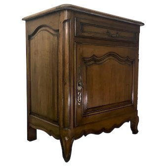 19th Century Country French Louis XV Style Confiturier Cabinet