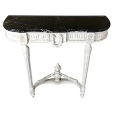 19th Century Antique French Louis XVI Style Console