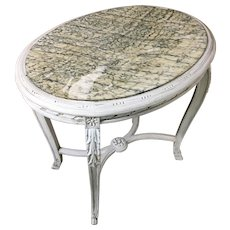 19th Century Antique French Louis XVI Style Gueridon Table