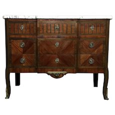19th Century Antique French Louis XVI Style Commode
