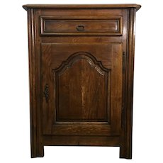 Antique French Louis XIV Style Oak Cabinet Confiturier
