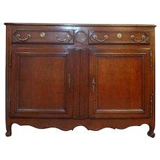 18th Century French Louis XV Style Oak Buffet
