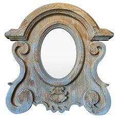 French Napoleon III Style Pine Mirror