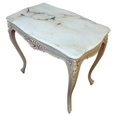 Antique French Louis XV Rococo Style Center Table