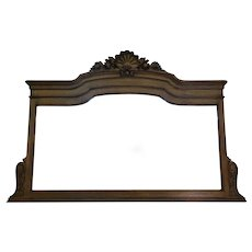 Antique French Louis XVI Style Mantel Mirror