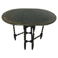 Antique English Gate-Leg Drop Leaf Table