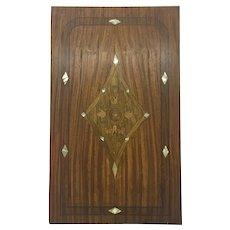Antique Art Nouveau French Decorative Panel
