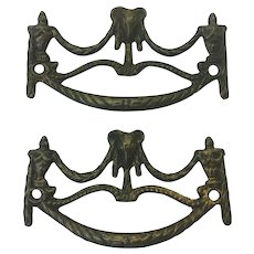 Pair of 18th Century French Louis XVI Period Handles