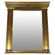 French Empire Style Gilded Mirror