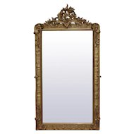 19th Century Antique French Rococo Mirror