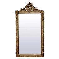 19th Century Antique French Rococo Mirror