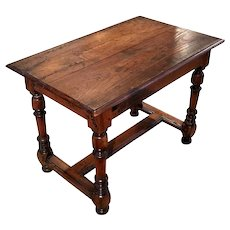 18th Century Antique French Louis XIII Style Pine Table